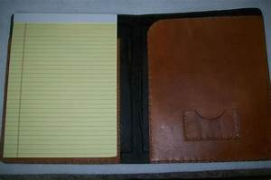 Buy A Hand Made Custom Leather Left Handed Portfolio