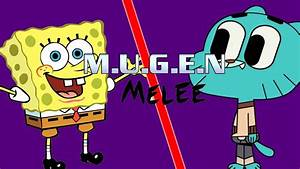 Mugen Melee Episode 111 Spongebob Vs Gumball Nickelodeon