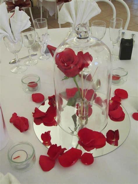 decoration table centre de table theme belle  la bete
