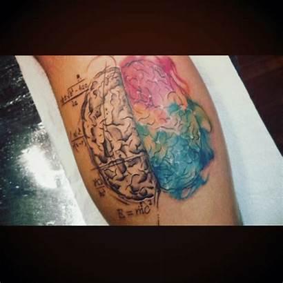 Tatuajes Cerebros Realistas