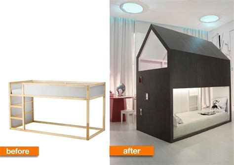 Bunk Bed With Desk And Futon Ikea by 101 Epic Ikea Hacks For Your Home
