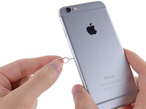 iphone  sim karte ersetzen ifixit