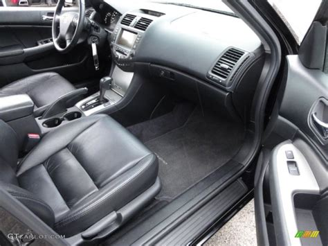 honda accord 2007 interior black interior 2007 honda accord ex l sedan photo