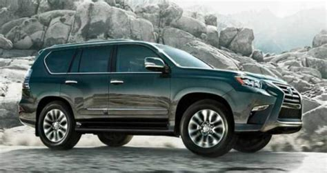 lexus gx  redesign    generation