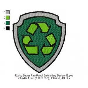 Rocky PAW Patrol Badge