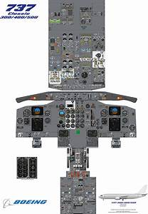 This Is A Cockpit Diagram Of The Classic Model Of The Iconic Boeing 737 Airliner  The