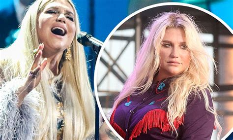 Kesha reveals eating disorder made her 'hate' herself but ...