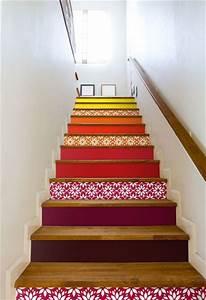 Deco Marche Escalier : comment d corer son escalier cocon d co vie nomade ~ Teatrodelosmanantiales.com Idées de Décoration