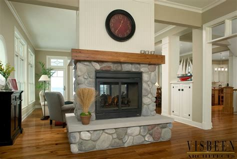 10 Spectacular Fireplace In Center Of Room