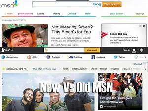 Bing Vs new MSN with social sign-in options – Product Reviews Net