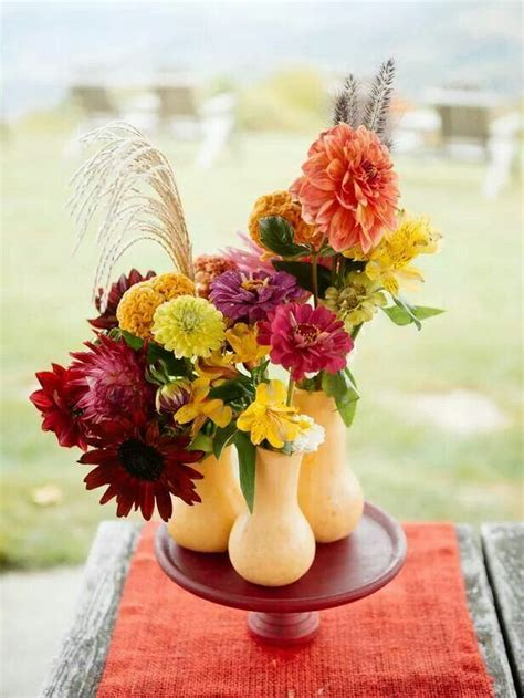 Now that's using your gourd Fall centerpiece Fall