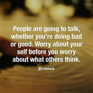 People Are Goin... Nice Talks Quotes