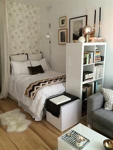 meubler un studio 20m2 voyez les meilleures idees en 50 With comment meubler un petit studio 11 idee amenagement studio 27m2