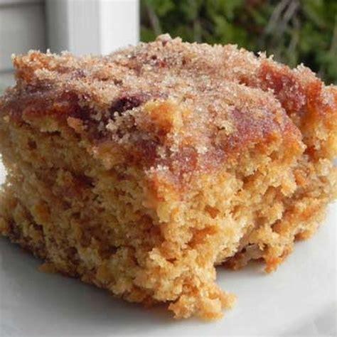 cinnamon sugar apple cake recipe desserts  brown sugar