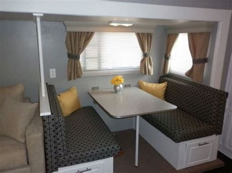 Decorating Ideas Rv by 16 Year Jayco Travel Trailer Gets Interior Decor Makeover