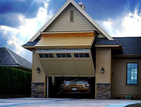 kind rv garage  foot tall door   rv
