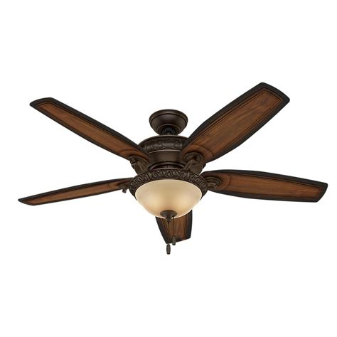 hunter 54 ceiling fan hunter claymore 54 in indoor brushed cocoa ceiling fan