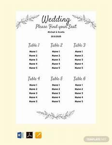 9  Wedding Chart Examples  U0026 Samples Pdf  Word  Psd