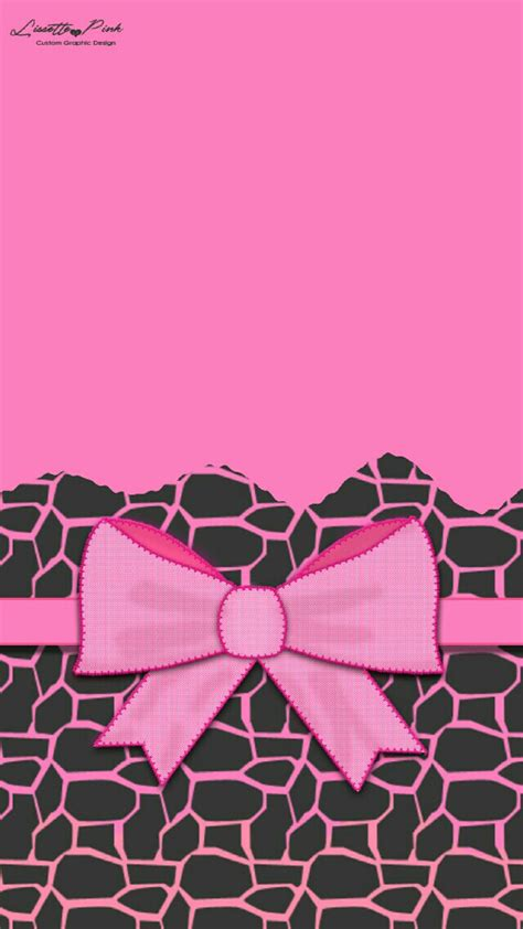 Pink And Black Animal Print Wallpaper - black and pink hello wallpaper 183
