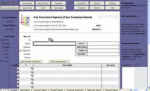 insurance invoice template free robinhobbsinfo With insurance agency invoice template