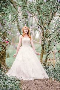 a fairytale woodland wedding shoot at applewood weddings With woodland fairy wedding dress