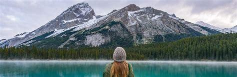 Canoes Lake Maligne by Canoeing Maligne Lake Jasper National Park The World Is