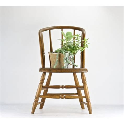 Farmhouse Chair Rustic Dining Antique Spindle