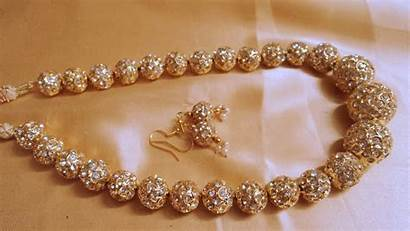Jewellery Wallpapers Designs Jaipuri Mala Beads Golden