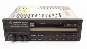Radio Head Unit Tape Deck Vw Jetta Golf Mk3 Passat B4