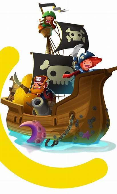 Pirate Pirates Kings Ship Play 70m Islands