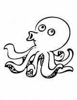 Octopus Coloring Dibujos Polipo Pulpos Polvo Colorir Colora Stampa Clipart Colorare Desenho Gratis Tudodesenhos Colorear Pintar Imprimir Disegni Designlooter Printable sketch template