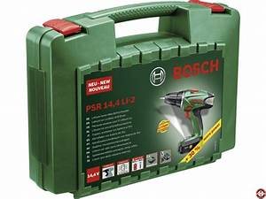 Perceuse Visseuse Bosch Psr 1200 Li 2 : test avis et prix perceuse visseuse sans fil bosch psr ~ Dailycaller-alerts.com Idées de Décoration