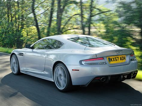 aston martin dbs lightning silver picture    rear