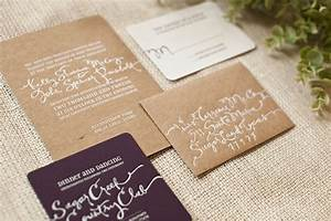 sage chocolate linen wedding save the dates customized With kelly paper wedding invitations