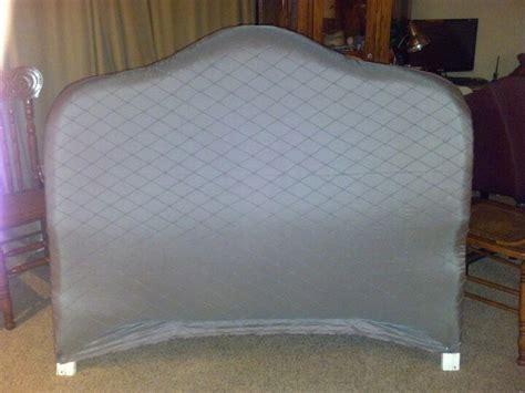 Recovered White Wicker Headboard