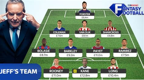 Jeff Stelling explains who makes his Sky Sports Fantasy ...