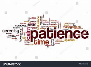 Patience Word Cloud Concept Stock Illustration 467344742 ...