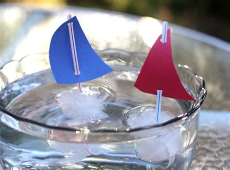 ice cube boats fun family crafts