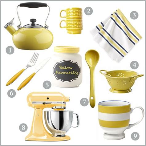 yellow kitchen accessories raise the look with kitchen accessories pickndecor 1211