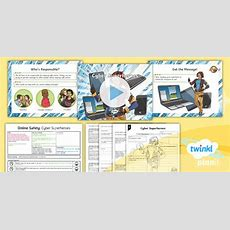 * New * Computing Online Safety Cyber Superheroes Year 4
