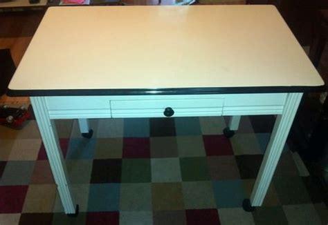 1930 enamel kitchen table vintage circa 1930 39 s hoosier white enamel top kitchen table