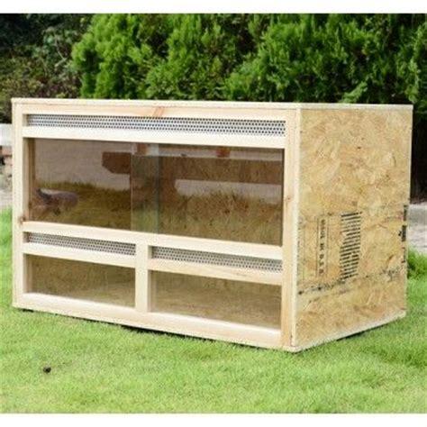 buy reptile vivarium natural wood large homcom pets pinterest natural natural wood  water