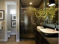 inspiring small bathroom remodel corner Inspiring Small Master Bathroom Ideas Remodel Ideas To Black And White Tile Bathroom Decorating ...