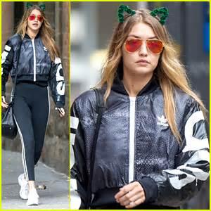 Gigi Hadid Wears Cat Ears On Halloween