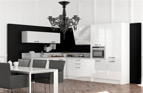 cuisine et blanc photos decoration cuisine noir et blanc divers besoins de cuisine