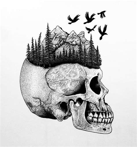 Magnificently Morbid Art Designs Featuring Skulls