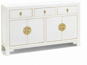 large classic chinese sideboard white sideboards With best brand of paint for kitchen cabinets with oriental candle holders