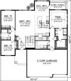 Delightful House Plan With Garage by 1000 Ideas About Floor Plans On House Floor