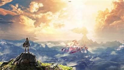 Zelda Breath Wild Legend Animated Nintendo Wallpapers