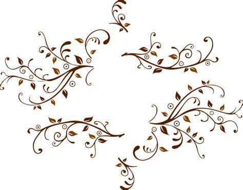 gambar vektor gratis daun tanaman merambat bunga